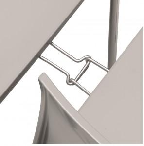 Conectori scaune Alice - detaliu sistem de prindere