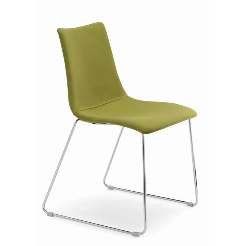 scaun-tapitat-Zebra-Pop-Sledge-stofa-verde-T453