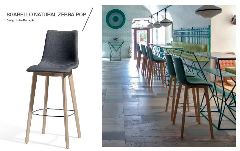 Scaun-de-bar-modern-Natural-Zebra-Pop
