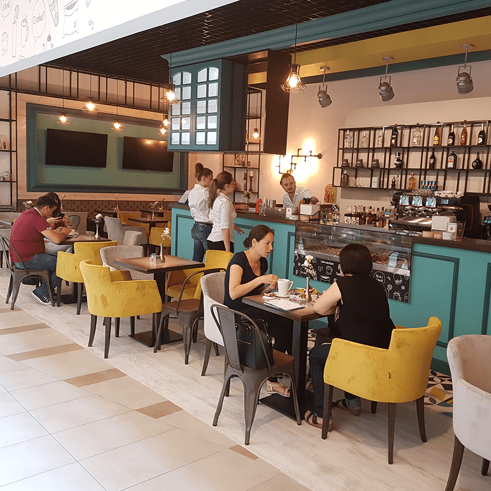 Amenajari HORECA Trend Furniture - Lento Cafe