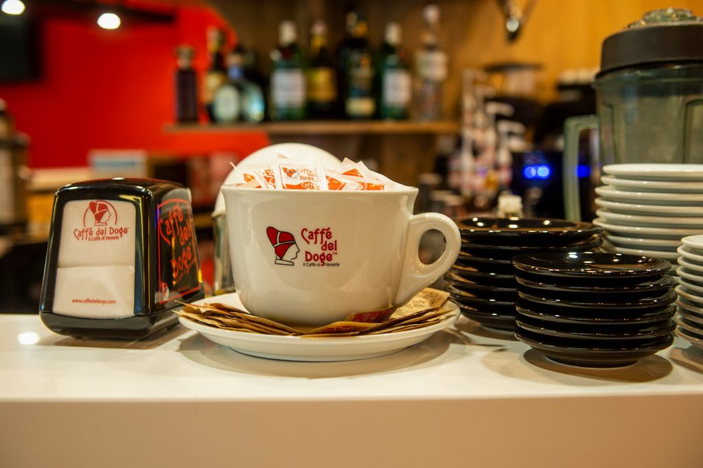 amenajare cafenea Caffe del Doge Timisoara