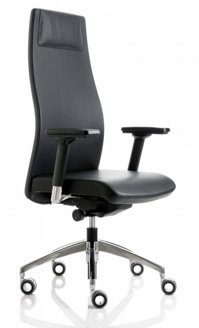 scaun office negru